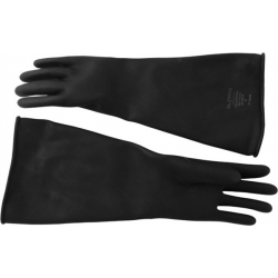 GUANTES GOMA NEGROS